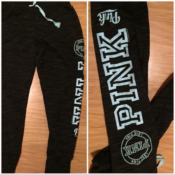 6e724a877f3ab PINK Victoria's Secret jogger sweatpants large